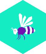 pictogramme abeille environnement