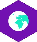 pictogramme accueil personnes du monde entier