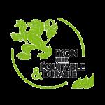 logo label lyon ville équitable et durable