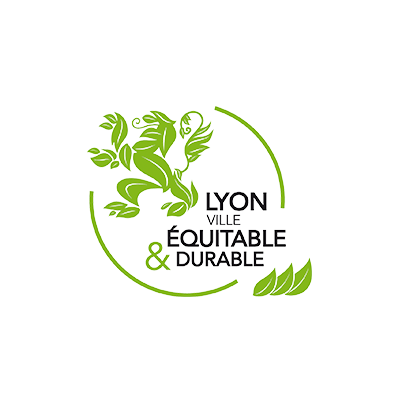 Lyon fair and sustainable city logo