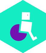 pictogramme accessibilité PMR