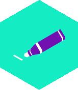 pictogramme feutre pour tableau