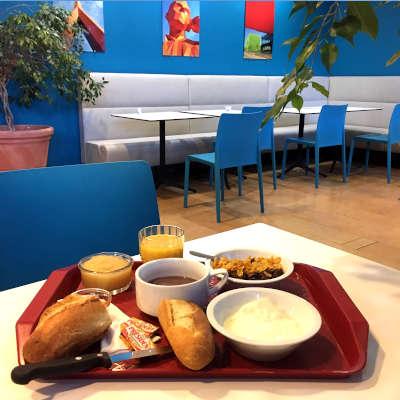 petit déjeuner self-service CISL ETHIC ETAPES